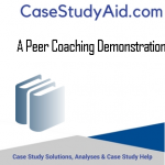 A PEER COACHING DEMONSTRATION
